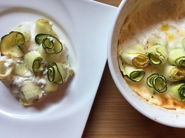 Zucchini Roses