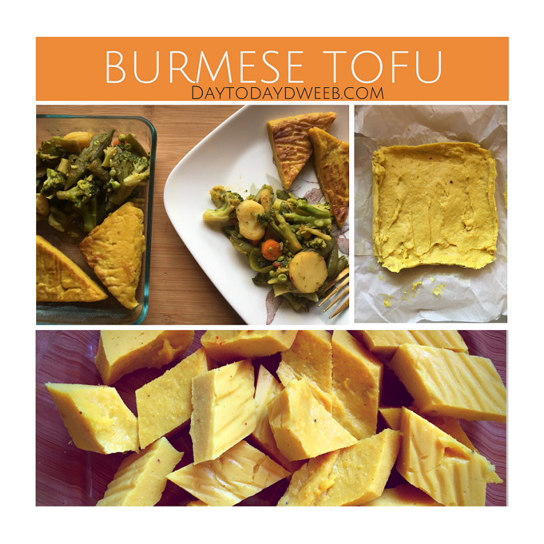 Burmese Tofu!
