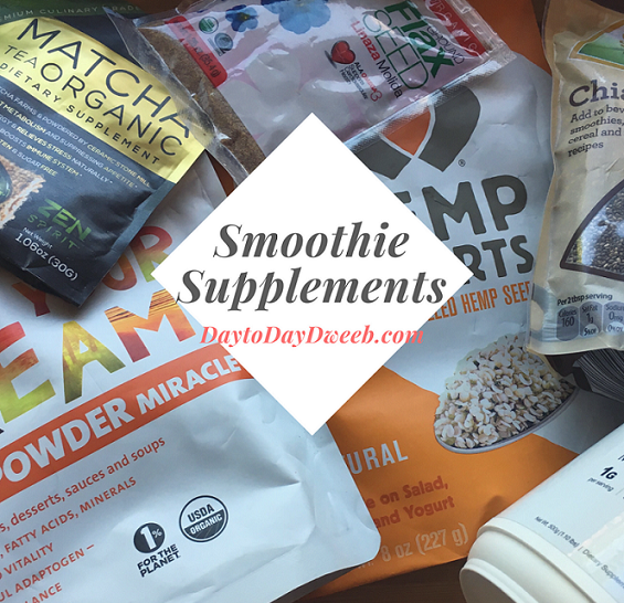 Smoothie Supplements!