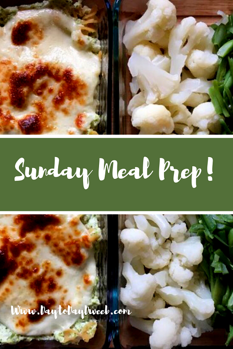 Sunday Meal Prep: Feeling Productive…