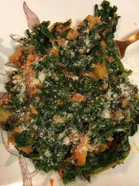 Kale - Fried - Yum