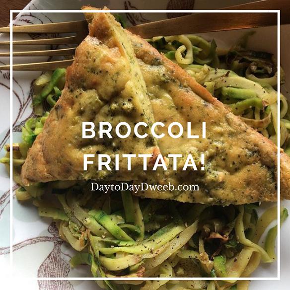 Broccoli Frittata (Frittatleson!)…