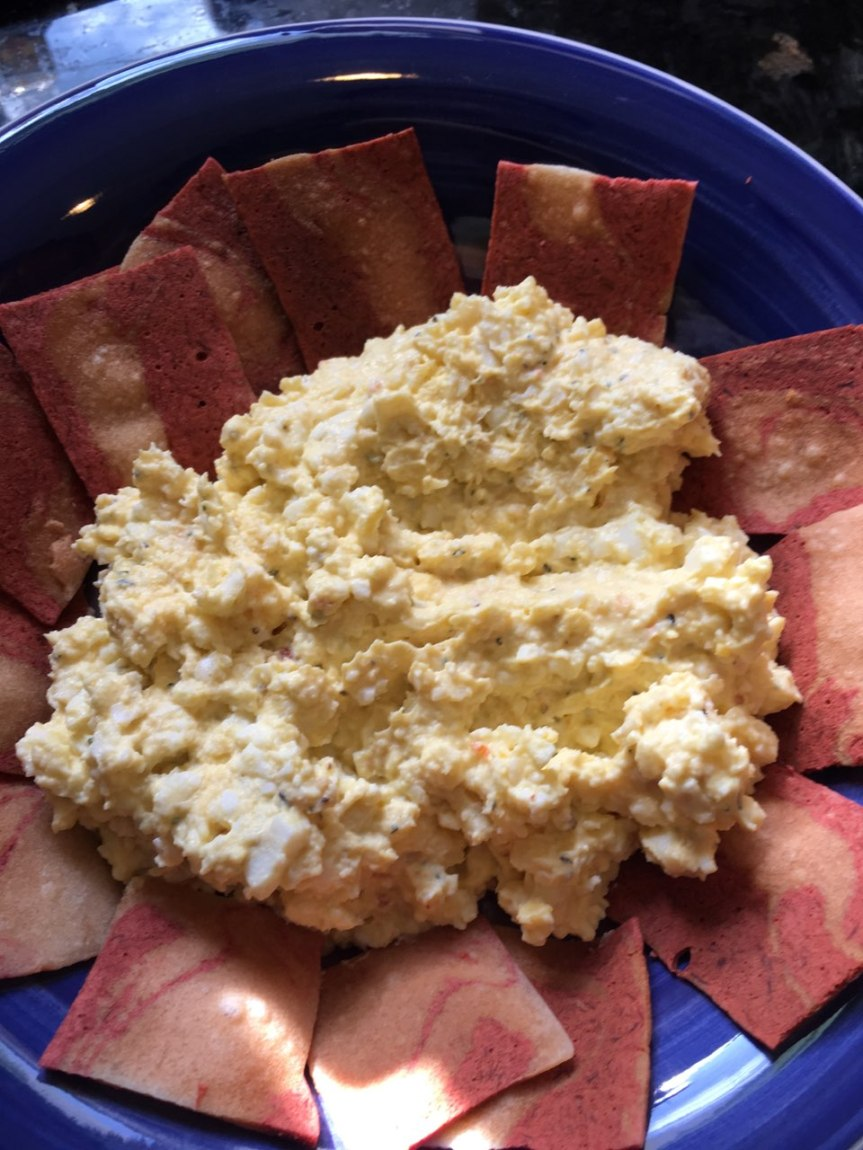Egg Salad with Facon