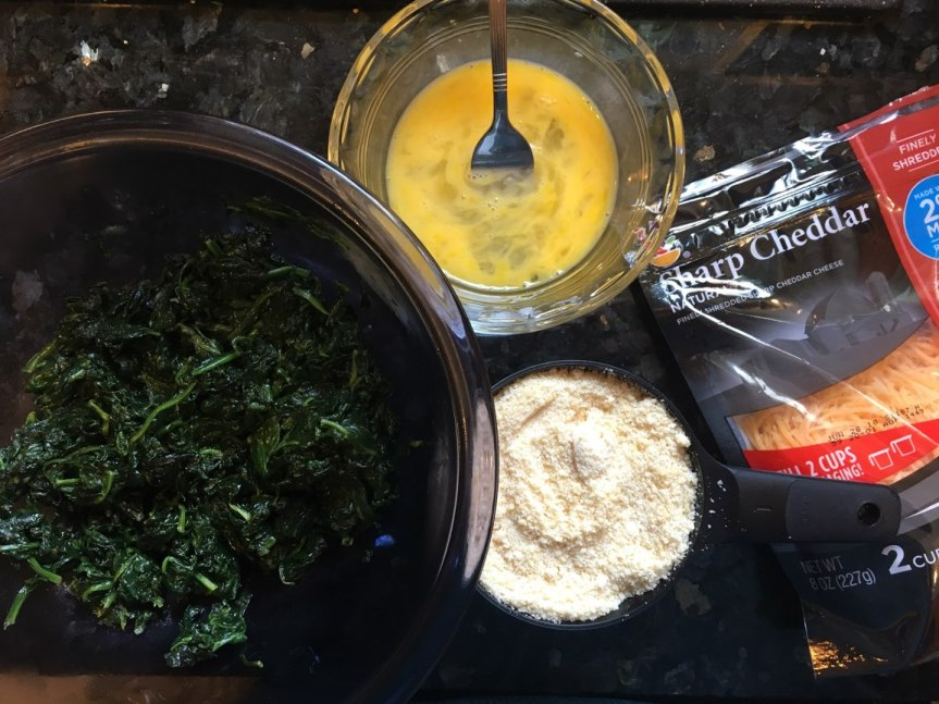 Spinach Ball Ingredients