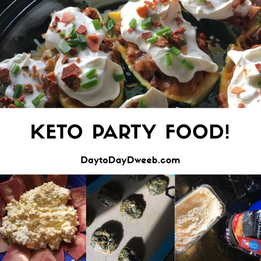 Keto Party Food!